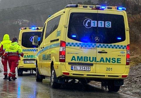 Ambulanser har ofte knapt med tid. Arkivfoto.