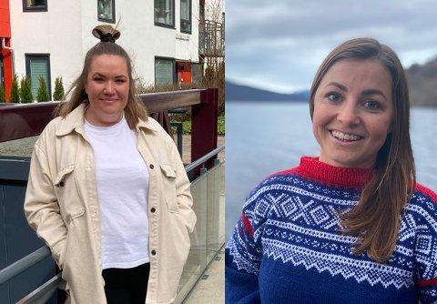 SOMMARJOBB: Aina Thomassen har jobba på spreng med innspelet til Henny-Kristin Asperanden Navarsete og arbeidarpartiet om ein eigen lavterskel plattform for små og store jobbar til ungdomar i Sogndal kommune.