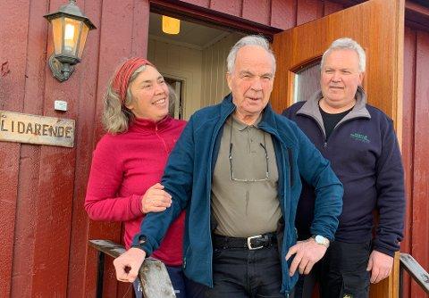 - Vi er veldig glad for at pappa var i så god form da han fikk korona, sier datteren Anne Karin Hatling og sønnen Per Kristian Hatling. Det var sønnen som smittet Per Hatling. Han ble smittet i Italia.