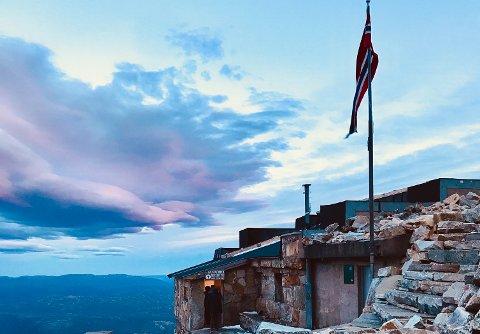 REKORD: Tidenes juli er over på knøttlille Gaustatoppen Turisthytte med rundt 200 overnattinger.