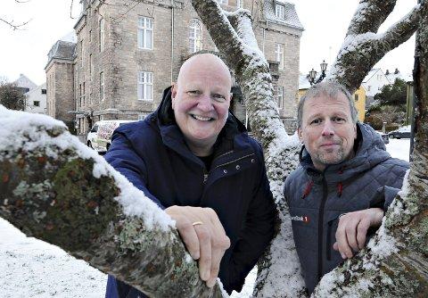 Økonomisk trygghet: Frode Alnæs får hjelp av og Hans Mellemsæther og Sparebank 1 Nordvest i innspurten av «Min dans med strenger».