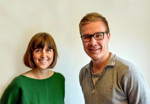 LAGER PODKAST: TBs samfunnsredaktør Marie Olaussen og journalist Truls Lian står bak den nye podkasten.
