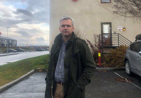GULT: Bror Helgestad sier at det ikke er aktuelt å heve beredskapsnivået i Østre Toten til rødt på nåværende tidspunkt.