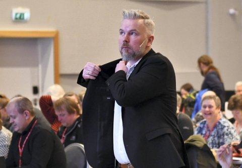 KJENNER SEG IKKE IGJEN: Regionleder Kristian Tangen i LO kjenner seg ikke igjen i NAVs fremstilling av trøndersk næringsliv.