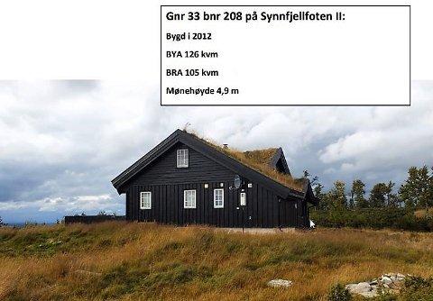 Etablert: Mens området Synnfjellfoten II er et etablert hytteområde allerede, er Feplassen et nytt hytteområde på Lenningen.