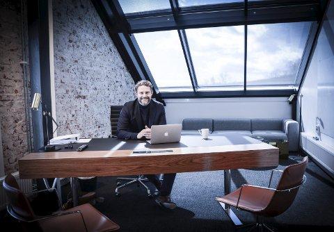 Enorm vekst: CEO i ABAX AS i Larvik, Bjørn Erik Brandsæter Helgeland, mener tydelig ledelse og selvstendige ansatte er nøkkelen til god arbeidskultur.