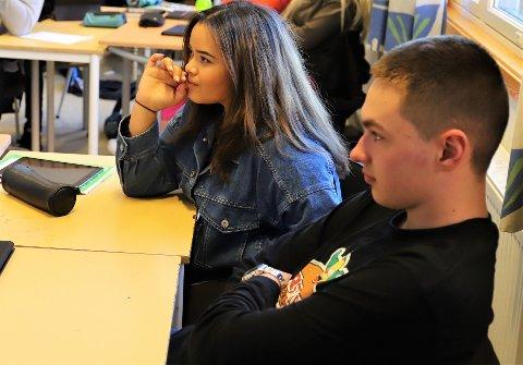 Det var tydelig at temaer som egen pengebruk og jobbmuligheter for ungdommer under 18 år var interessant stoff for elevene.
