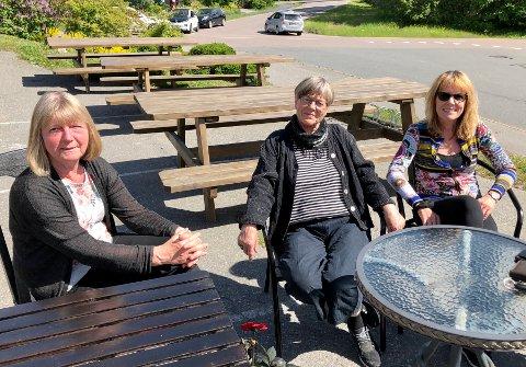 Siri Askildsen Lindseth, Kari Derbakk og Anne de Capua har alle en massiv barnehageerfaring fra Nesodden.