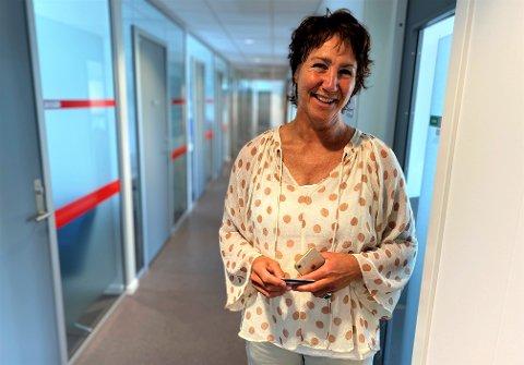 JENTENES TUR: Birgitte Søderstrøm i Tønsberg kommune sier tallene fra Ungdata-undersøkelsen viser at flere jenter enn gutter opplever hverdagen som stressende og utfordrende.