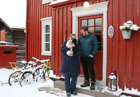 TRIVES: Her trives Merete og Vidar Lohn.