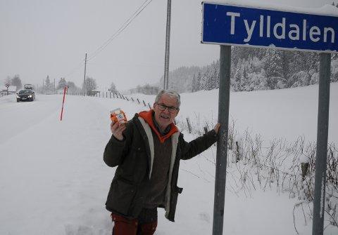 DÅRLIG VEGSTANDARD: Fylkesveg 30 gjennom Tylldalen er veldig humpete og i dårlig forfatning, sier nestleder Lars Hogstad i Tynset KrF.