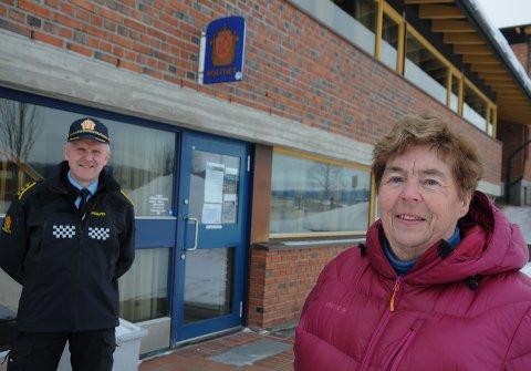 LENSMANNSTITTELEN VRAKES: Oddbjørg Morseth var lensmann i Tolga fra 2000 og fram til hun gikk av med pensjon i 2010. Lensmann Bjørn Tore Grutle i Tynset får trolig  ny tittel som politiavdelingsleder.