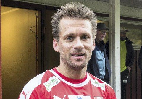Gir seg: Sunndal-veteran Tor Erik Torske.Foto: Arkiv