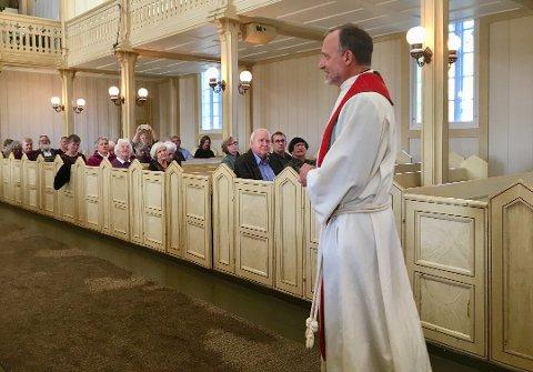 AVLYSER GUDSTJENESTER: Alle arrangement i kirkene i Risør og Gjerstad avlyses frem til 18. januar.