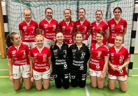 Flekkefjord Håndballklubbs J15-lag.