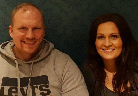Sambuarparet Espen Lund og Marita M Tunes skal  drive Parken treningssenter.