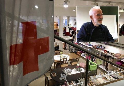Øystein Nystad er glad for at Røde Kors åpner dørene igjen.