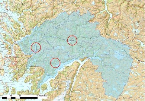 Forslaget fra de åtte ordførerne innebærer tre lensmannskontor, henholdsvis i Norheimssund, Voss og Osterøy/Vaksdal.