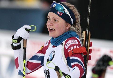 Skiskytteren Hilde Fenne fra Voss er klar for sitt aller første OL, 24 år gammel. Det er akkurat like gammel som faren Gisle var da han deltok i sitt første OL. Det er 30 år siden. (Foto: NTB scanpix)