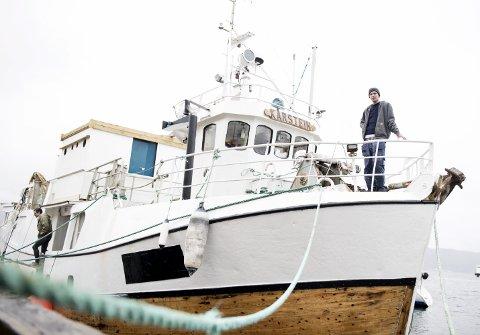 TIL GAZA: Herman Reksten er skipper på den første delen av den lange ferden til Gaza. – Som sjømann er det min forpliktelse å vise solidaritet med endre sjøfolk, også på Gaza, sier han- FOTO: SKJALG EKELAND