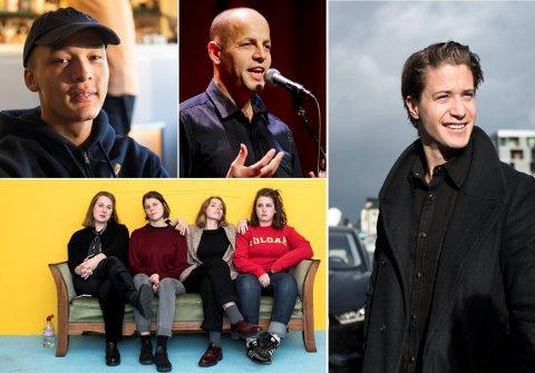 Nominerte: Kamelen, Doddo, Razika og Kygo er blant de nominerte til Spellemannprisen 2018.