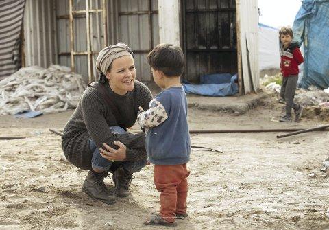 For to år siden besøkte lærer Maren Elise Skjerlie Gilling fra Bergen Syria for første gang. Siden har hun møtt mange barn og voksne der og i grenselandene. – Det gikk mer og mer opp for meg at jeg var nødt til å gjøre noe for barna, forteller bergenseren til BA.foto: LARS SCHMIDT