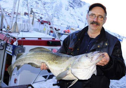Leif Godvik håper på mange slike i løpet av vinteren. (Foto: Trond K. Johansen)