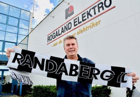 Hovedsponsor: Trond Randeberg i Rogaland Elektro gleder seg over muligheten til å sponse selve hovedpremien.