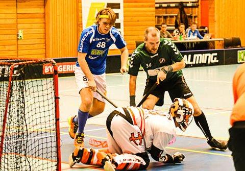 SCORET:  Jørgen Ripel  scoret ett av NOR 92s ti ml mot bunnlaget Bærums Verk/Hauger.
