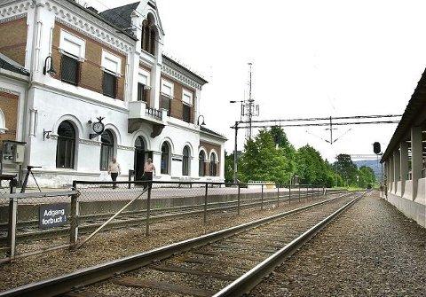 Det var før jul at den alvorlige hendelsen skjedde på Hokksund stasjon.
