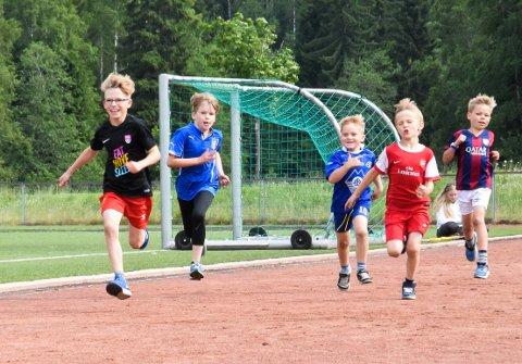 Arkivbilde fra Friidrettsdagene 2016.