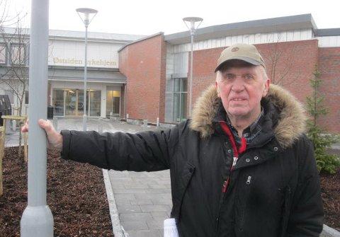 Fornøyd: – Jeg er godt fornøyd, sier leder av kommunens faste byggekomité, Bjørge Johansen