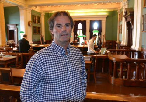 Morgan Andersen sier han ser frem til siste dag i Høyesterett
