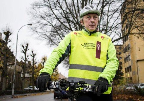 NESTEN UTRADERT: Mens doktor Jan Henrik Lund jobbet på Cicignon, syklet nær 500 av hans sykehuskollegaer til og fra jobb. Etter to år på Kalnes er antallet på enkelte dager helt nede i 20.