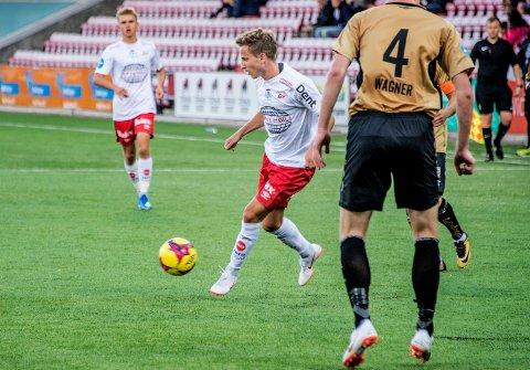 Gjennombruddshissiget. FFK leter etter flere spillere som Ludvig Begby med fart og gjennombruddsevne.