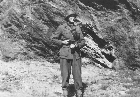 andre verdenskrig. Einar Gandrud