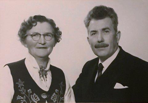 Albertine og Albert Karlsen.