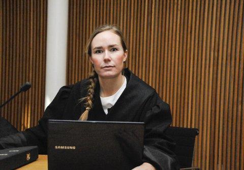 AKTOR: Politiadvokat Tale Helgerød fører saken for påtalemyndigheten.