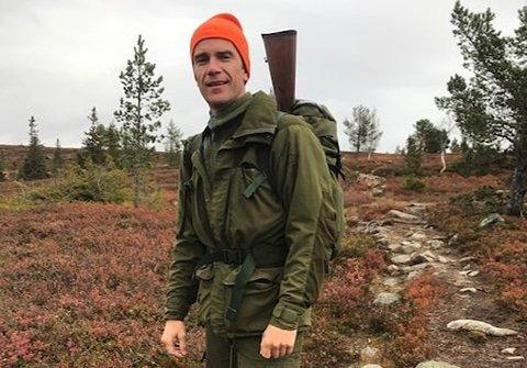 SJELDENT SYN: Carsten Andreas Foyn Bruun trodde knapt det han så da han var på jakt.