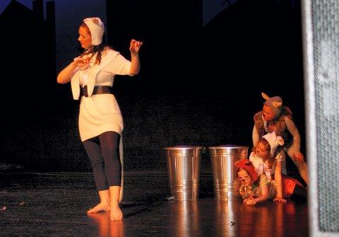 FLERE PÅ VENTELISTE: Teaterundervisning er populært, og flere barn og unge står på venteliste for å få plass på dette tilbudet i kulturskolen i Kongsvinger.