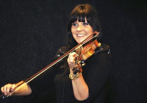 PÅ NY PLATE: Marie Klåpbakken fra Vinstra. Arkivfoto