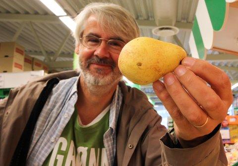 Halvard Klevmark, Miljøpartiet De Grønne Lunner, frukt og grønt