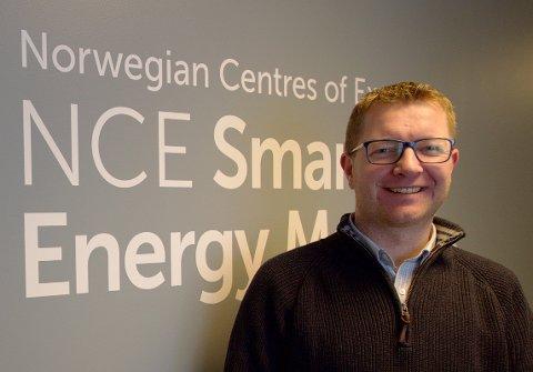 BYGGE VIDERE: – Vi skal bygge videre på vår unike kompetanse innen smart energi, smarte byer og digitale teknologier, samtidig som vi skal inneha en sentral posisjon i digitaliseringen og omstillingen av Norge, sier Ole Gabrielsen.