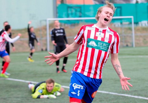 TILBAKE: Ole Strømsborg er tilbake i Kvik Halden, og får trolig spilletid i lørdagens treningskamp mot Kråkerøy på Strupe.