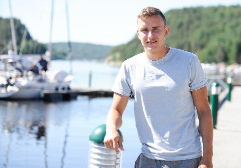 SKADET: Martin Hoel Andersen har hatt en skadeplaget sesong for 1. divisjonsklubben Jerv, men er snart frisk fra skulderskaden - og retter blikket mot 2020.