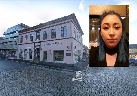 Cindy Andersen (33) sier opp den faste jobben i Fredrikstad og satser som frisør i dette lokalet.