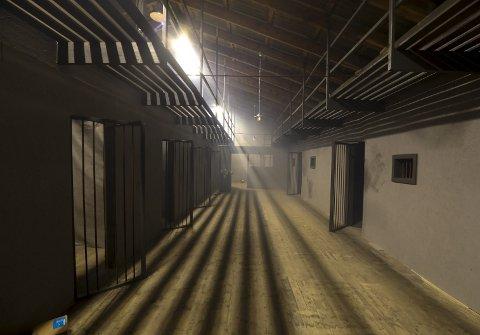 FENGSEL: Dette fengselet på Indre kai står nå ferdig.