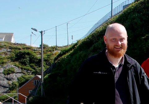 VIL UTVIDE: Samfunnskontakt i Alsaker Fjordbruk Kristian Råsberg sendte i mars en prinsippsøknad til Sveio Kommune.