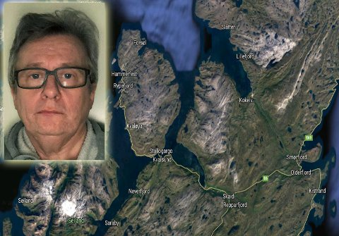 TILBAKE TIL 2018: Arnt Steinar i Kokelv opplevde utfallet i mobildekningen som å havne 50 år tilbake i tid. Områdene rundt Vassbukt, Kvalsundbrua, Akkarfjord, Saraby og Hønsebyfjellet var også berørt av den samme feilen.