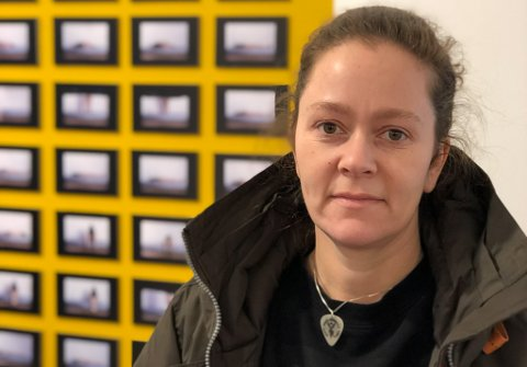 ÅPNET I JANUAR: Nordnorsken åpnet i januar i år i Bodø. Her har vadsøjenta Elisabeth Stiglic er representert med et personlig verk.